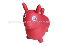 Inflatable jumping rody toy