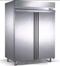 Europe-type commercial stainless freezer fridge BKN-1000LD-2G/ commercial refrigerator