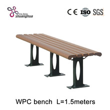 High quality park bench/Wood Plastic Composite Panel/WPC Bench Chair