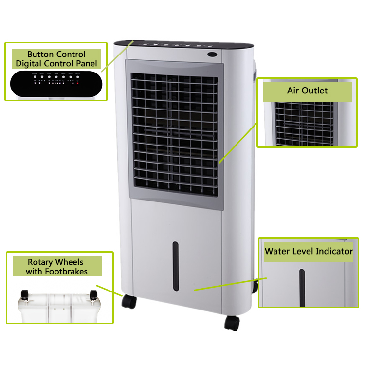 rechargeable fan heater water cooler air conditioner