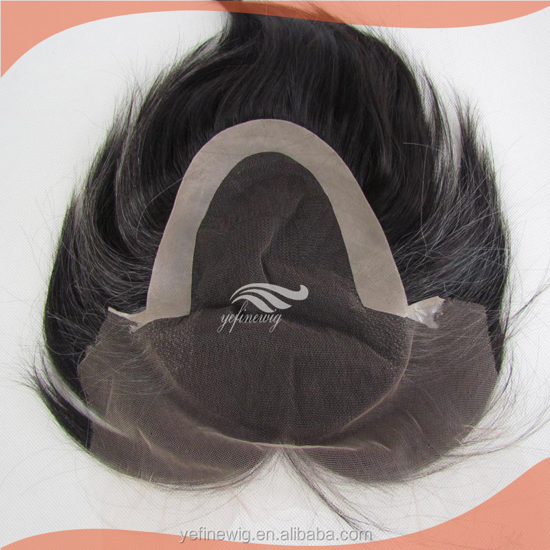 China Supplier 100% human hair cheap toupee for men