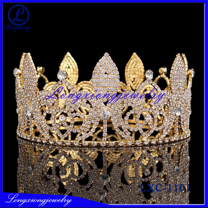 2017 New Designs Rhinestone Bridal Head Crowns