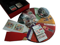 Trivial party board game set for fun