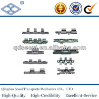 free flow coal mining long pitch conveyor belted chain