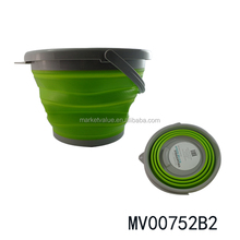 5L AND 10L portable foldable water bucket collapsible pail
