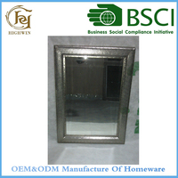 Fogless shower mirror with Electroplating effect