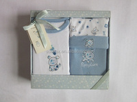 Gift box, 3pcs baby clothes sets