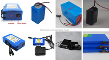 rechargeable 12v 18ah lithium battery pack 18650 battery for solar backup