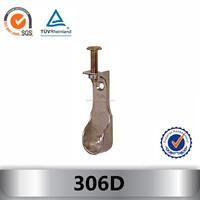 Zinc alloy Wardrobe Rail End Support 306D