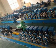 High Frequency Steel Straight Seam Pipe Welding Line/Tube Mill