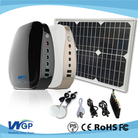 mini portable solar powered led light kits solar power system for home lighting