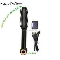 New arrival USB rechargeable battery for hair straightening brush