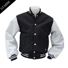 Custom Made Men's Varsity Jacket Baseball Jacket