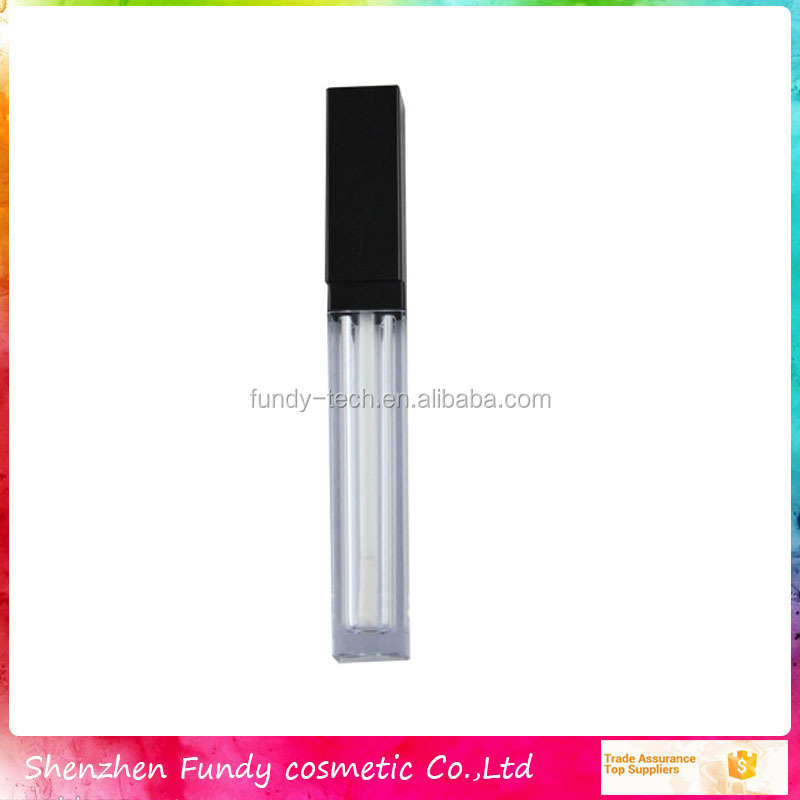 New Arrival Empty Square lip gloss Tube For Wholesale