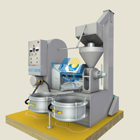 new design cold press sunflower oil machine for seed oil process