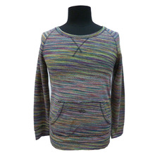 mens colourful pull-over latest design crewneck sweatshirt without hood in good fabric