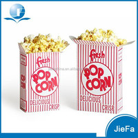 Cinema used Beautiful Design Paper Popcorn Container