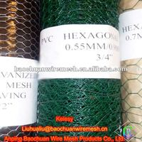 PVC coated poultry hexagonal wire mesh