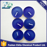 2016 hot ssle paraffin wax colored unscented tealight candle