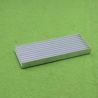 100*35*10mm Heatsink Cooler Cooling Fin Aluminum Radiator Heat Sink for LED, Power IC Transistor, Module PBC 100x35x10mm