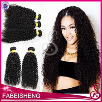 Unprocessed natural color claw clip ponytail human hair extension