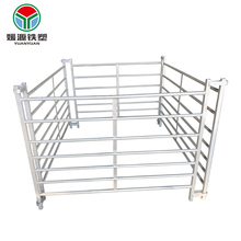 Top grade galvanized gate designs filed fence price high-security steel palisade corral sheep panels
