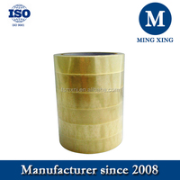 Clear sealing packing bopp adhesive tape 45 mic for general packing