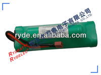 competitive 4.8v 600mah ni-mh aaa battery pack