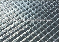 China manufacturer galvanized or PVC coated square welded wire mesh panel