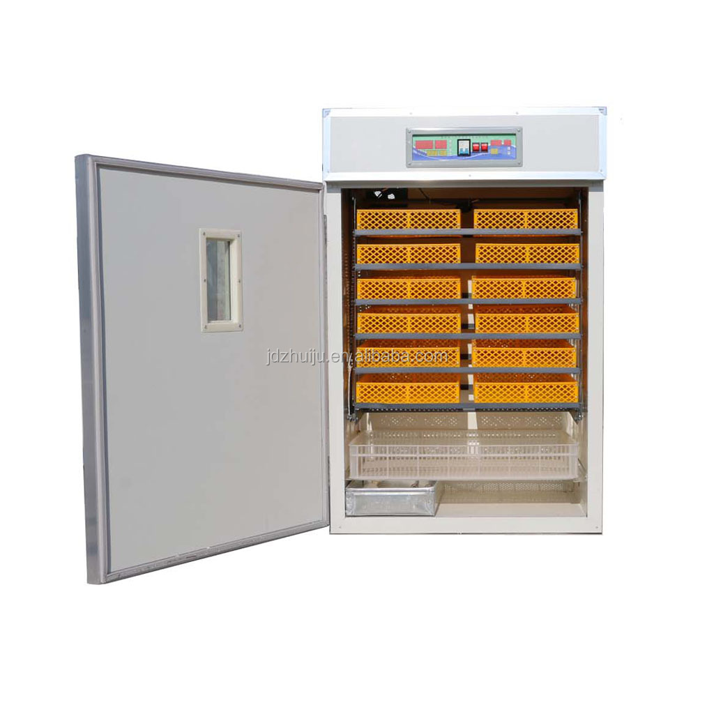 2018 industrial automatic 1056 chicken egg poultry egg incubator price with CE HJ-IH1056