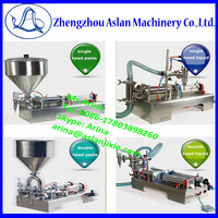 Horizontal Manual jam/chilli sauce/ Olive oil filling packing machine