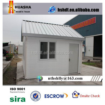 European Modular Home with Sandwich Panel and PVC Wall