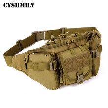 CYSHMILY Waterproof tactical military backpack outdoor waist bag