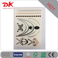wholesale makeup 3D metallic flash tattoo /metallic temporary tattoo /body gold tattoo sticker