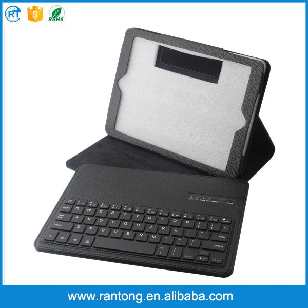 wholesale price detachable type holder flip cover bluetooth keyboard case for ipad air 5