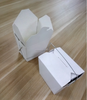 Cheap white takeaway fast food paper box