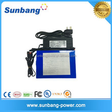 Battery pack LiFePO4 battery 48v 10ah for electric bicycle/ebike