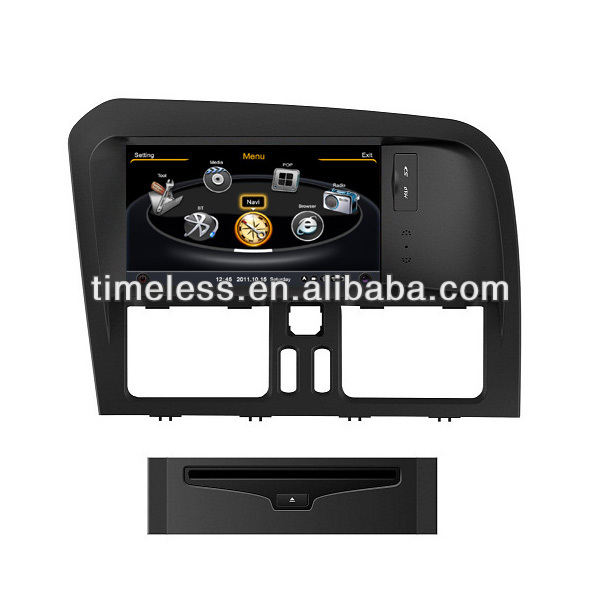 Auto Radio Volvo XC60 with Phonebook iPod BT 3G WIFI 20VCDC CPU1GMHZ RAM512MB 4G Memory S100