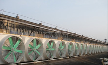 SMC cow/chicken/sheep house air cooling exhaust fan