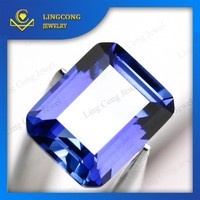 gemstone manufacturer loose rectangle shape sapphire
