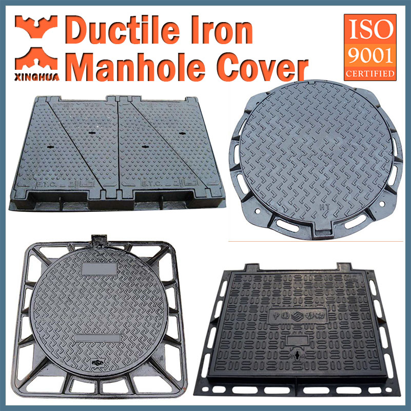 Cast iron manhole cover; Cast iron manhole cover price