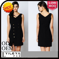 lovely black young lady japan style dress