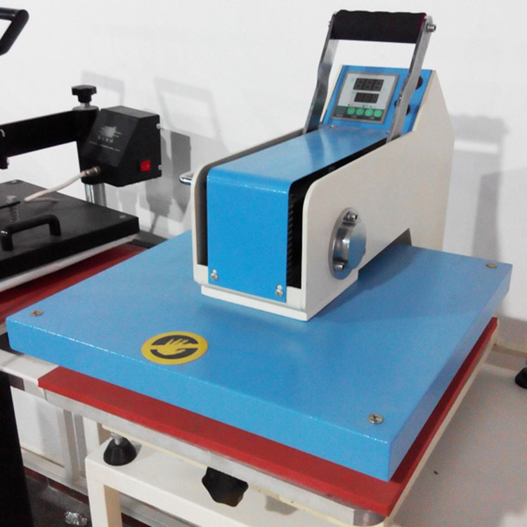 Manual cheap small swing away hand t shirt heat press for Cheapest t shirt printing machine