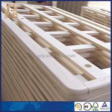 JAS certified factory supply poplar lvl timber for bed frame
