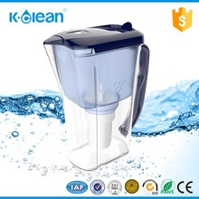 2.5L BPA FREE alkaline water filter pitcher with low negative ORP