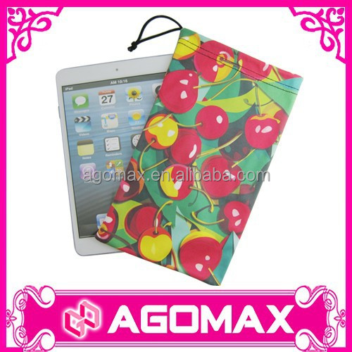 2016 newest functional colorful pouch clothe for ipad mini