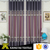 Suzhou Wujiang textile new arrival gradient color printed polyest curtain