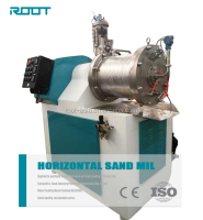 Lithium Battery Production Horizontal Sand Mill Super Fineness, Bead Mill Price