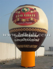 Commercial grade inflatable advertising balloon, giant cold air balloon K2078