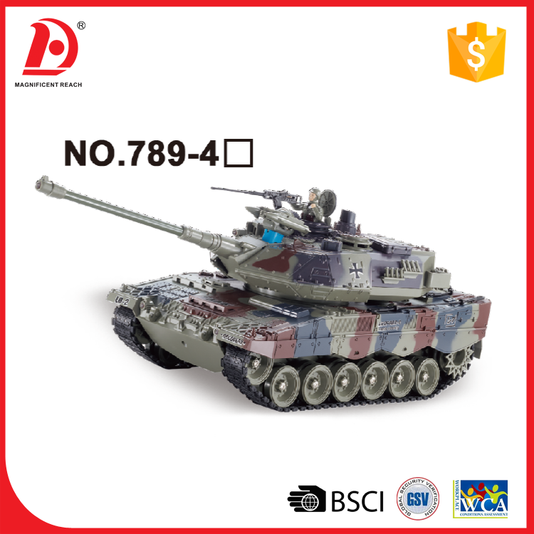 16 Channel 1:24 Scale Variety of Battle Mode RC Tank Toy Tracks